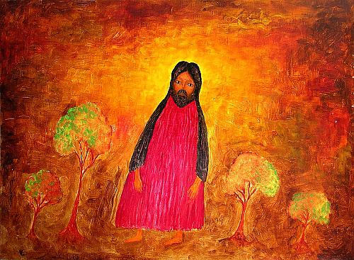 Christ in the Garden of Gethsemane Christian - oil painting