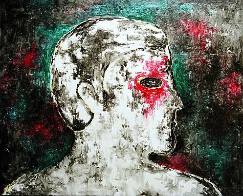 Портрет фигуративное искусство - масло живопись