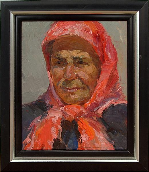 Study portrait or figure - oil painting