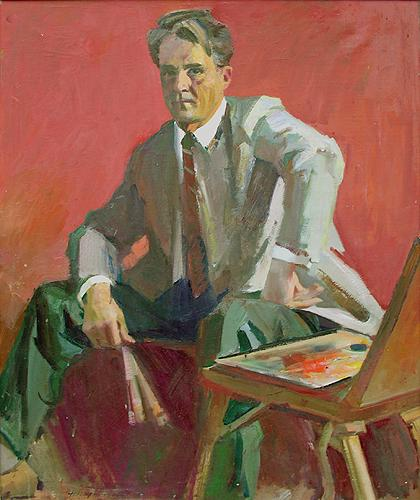 Self-Portrait portrait or figure - oil painting