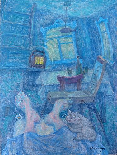 everyday cats interior country rest