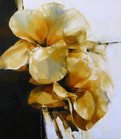 Flowers flower - oil painting