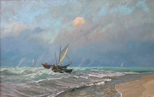 Seascape seascape - oil painting