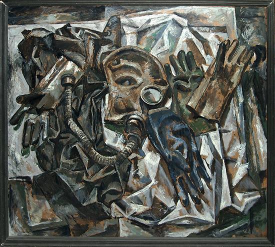 Chernobyl Still Life still life - oil painting