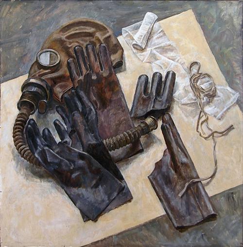 Чернобыльский натюрморт натюрморт - масло живопись