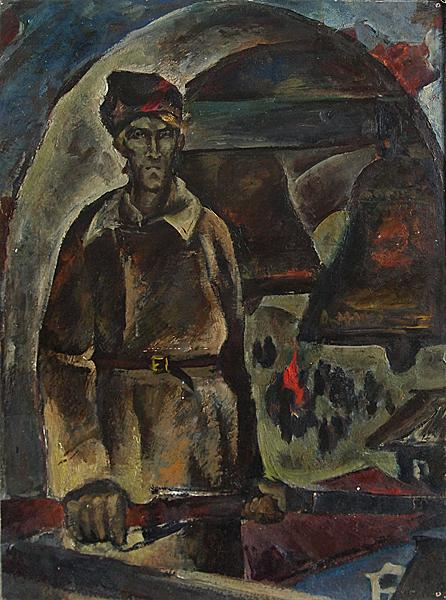 набатный колокол соцреализм революция солдат
