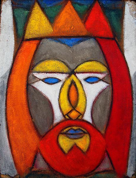 King fantastical art - oil painting
