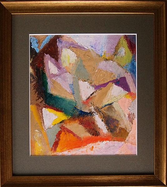 Untitled abstract art - oil painting