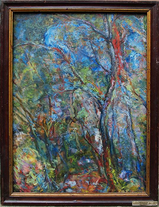 Untitled vegetation - oil painting