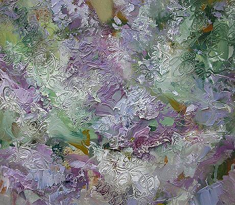 Lilac #7 flower - oil painting